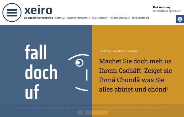 Vorschau von www.xeiro.ch, Xeiro AG