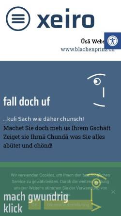 Vorschau der mobilen Webseite www.xeiro.ch, Xeiro AG