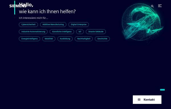 Vorschau von www.siemens.com, Siemens AG