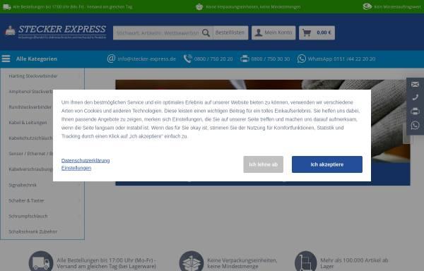 Vorschau von www.stecker-express.de, Stecker Express GmbH