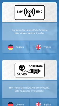 Vorschau der mobilen Webseite epa.de, EPA GmbH