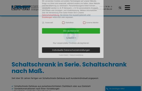 Vorschau von www.lippert-box.de, Anton Lippert GmbH