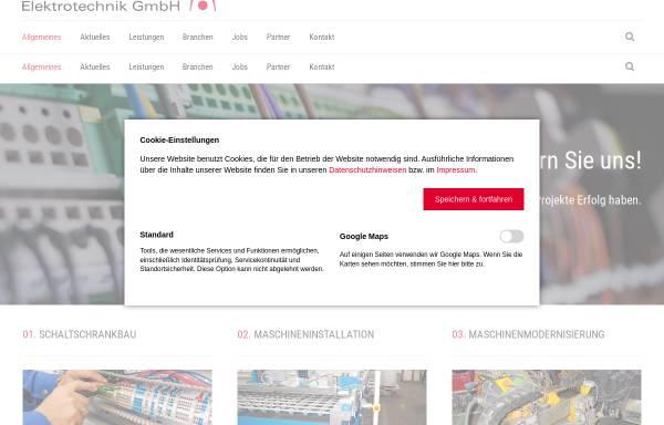Vorschau von www.bohnenkamp-elektrotechnik.de, Bohnenkamp Elektrotechnik GmbH