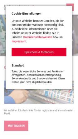 Vorschau der mobilen Webseite www.bohnenkamp-elektrotechnik.de, Bohnenkamp Elektrotechnik GmbH