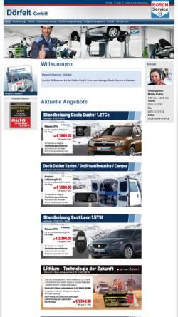 Vorschau der mobilen Webseite www.batterie-service-zwickau.de, Dörfelt GmbH