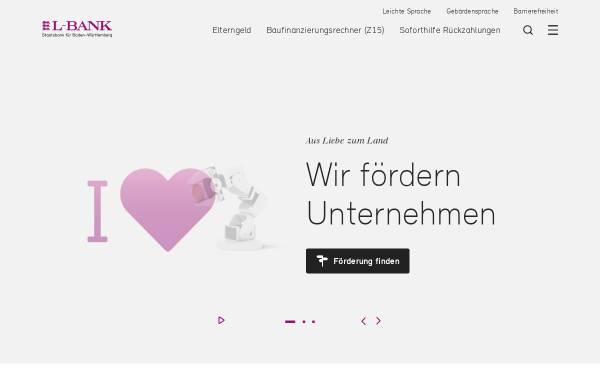 Vorschau von www.l-bank.de, L-Bank