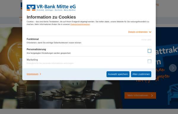 Vorschau von www.vrwm.de, VR-Bank Werra-Meißner eG