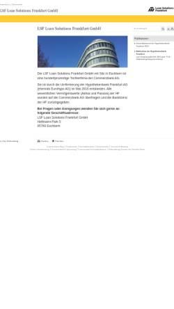 Vorschau der mobilen Webseite www.hypothekenbankfrankfurt.com, Hypothekenbank Frankfurt AG