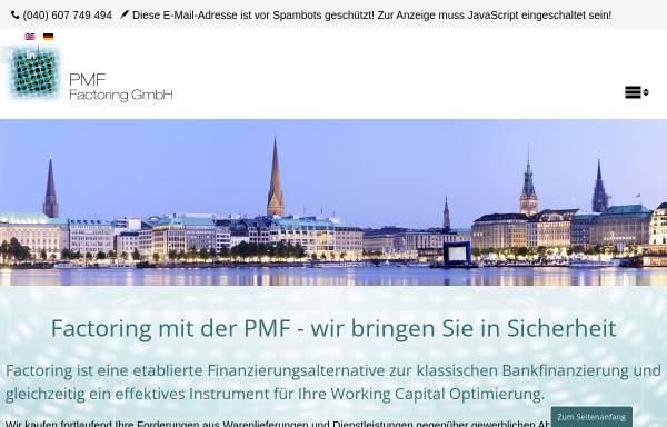 Vorschau von www.pmf-factoring.de, Pmf Print Media Factoring GmbH
