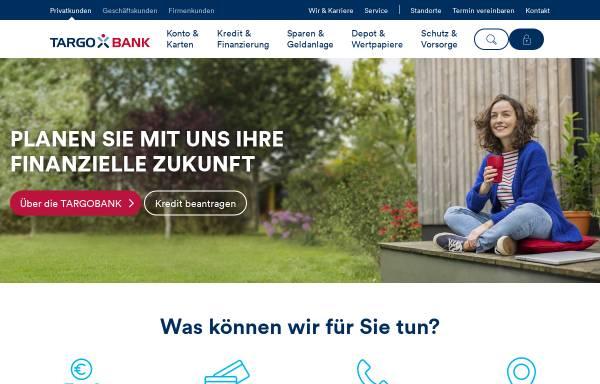 Vorschau von www.targobank.de, TARGO Factoring GmbH