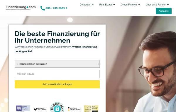 Vorschau von finanzierung.com, Finanzierung.com GmbH