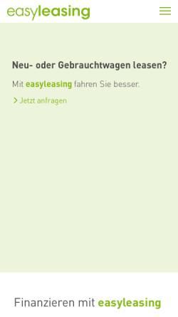 Vorschau der mobilen Webseite www.leasing.at, BAWAG P.S.K. Leasing GmbH