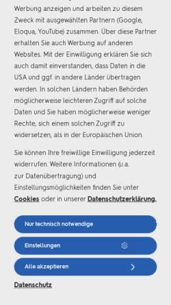 Vorschau der mobilen Webseite www.athlon.com, Athlon Germany GmbH
