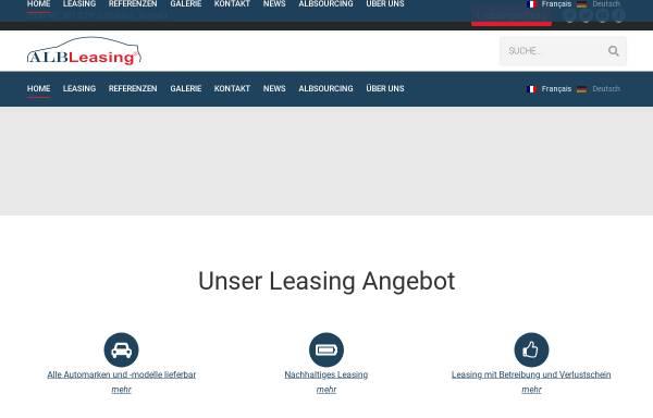 Vorschau von www.alb-ag.ch, ALB AG