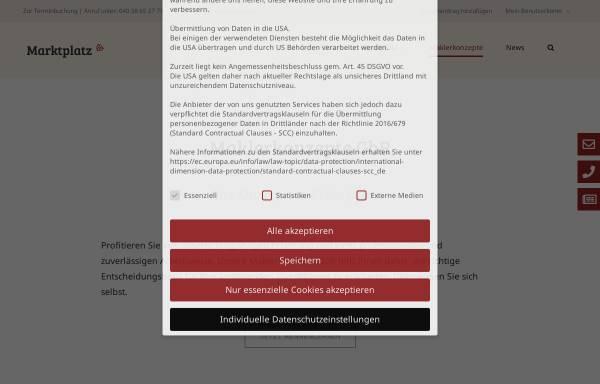 Vorschau von www.maklerkonzepte.de, Maklerkonzepte GbR
