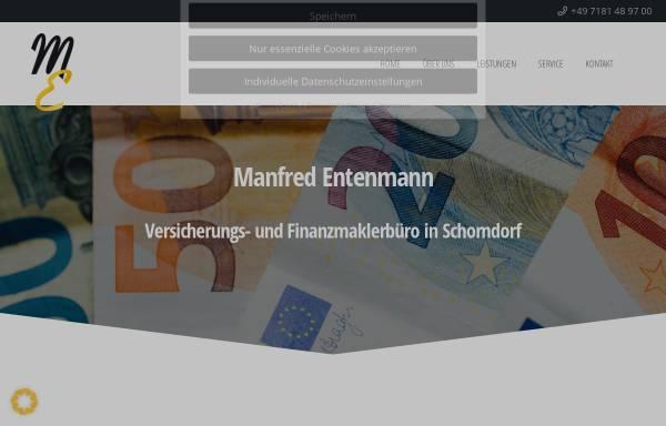 Vorschau von www.entenmann-maklerbüro.de, Versicherungsmakler Dietmar Entenmann