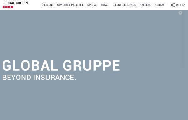Vorschau von www.global-gruppe.com, Global Assekuranz Versicherungsmakler GmbH