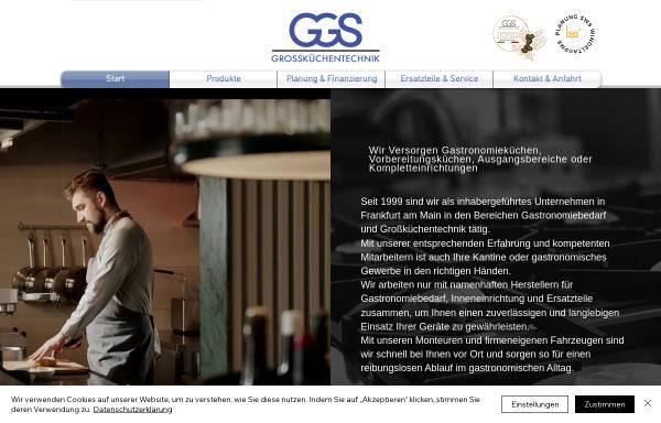 Vorschau von www.ggs-web.de, GGS, Gastronomie und Gebäude Service - Oeguet Oemer