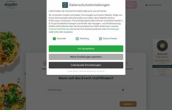 Vorschau von www.aveato.de, Aveato Business Catering - eatat System AG