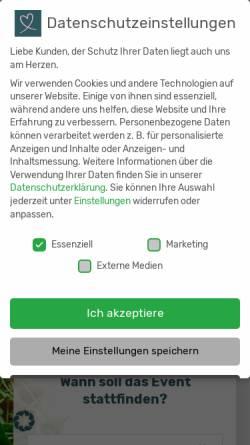 Vorschau der mobilen Webseite www.aveato.de, Aveato Business Catering - eatat System AG