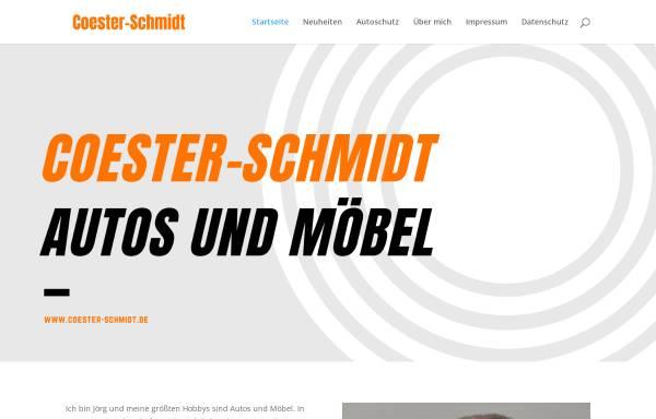 Vorschau von www.coester-schmidt.de, Coester & Schmidt Unternehmensberatung GmbH