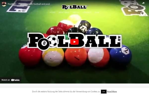 Vorschau von poolball.eu, Poolball Schindler & Schlottblohm GBR