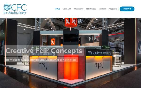 Vorschau von www.creativefairconcepts.de, CFC Die Messebau-Agentur GmbH