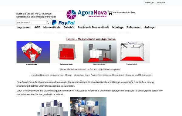 Vorschau von modularstand.de, Agoranova GmbH & Co. KG