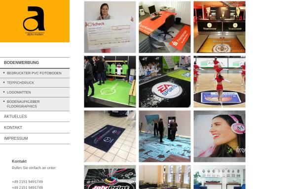 Vorschau von www.messebau-alpha.de, Alpha Beratungsgesellschaft mbH