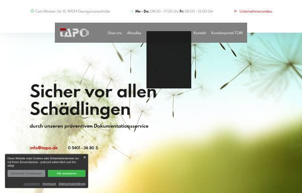 Vorschau von www.tapo24.de, TAPO Service & Handel GmbH
