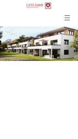 Vorschau der mobilen Webseite laye.de, Laye GmbH