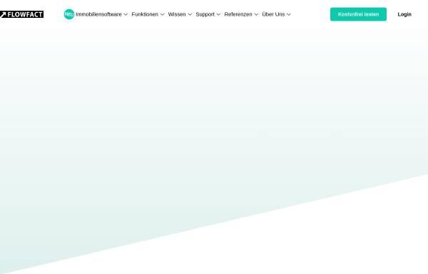 Vorschau von flowfact.de, FlowFact AG