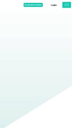 Vorschau der mobilen Webseite flowfact.de, FlowFact AG