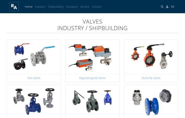 Vorschau von www.armaturenshop.de, Reimer Armaturen GmbH