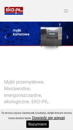 Vorschau der mobilen Webseite www.ekopil.com, Eko-Pil