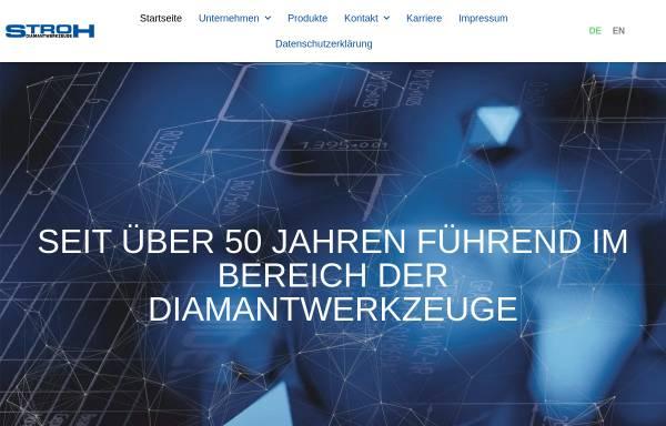 Vorschau von stroh-diamant.de, Stroh Diamantwerkzeuge GmbH