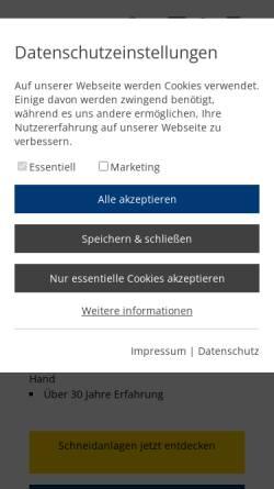 Vorschau der mobilen Webseite www.microstep-europa.de, MicroStep Europa GmbH