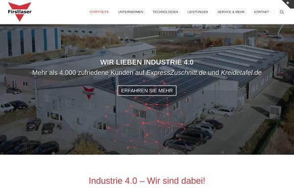 Vorschau von firstlaser.de, Firstlaser GmbH