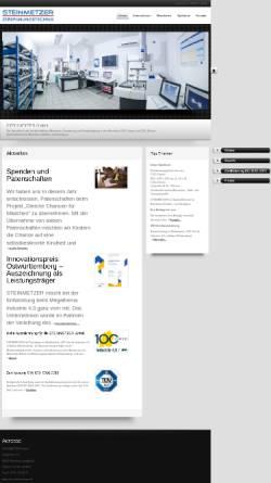 Vorschau der mobilen Webseite cnc-steinmetzer.de, Steinmetzer GmbH