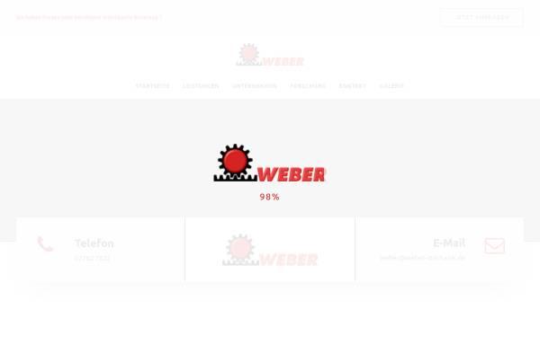 Vorschau von www.weber-mechanik.de, Weber Mechanik