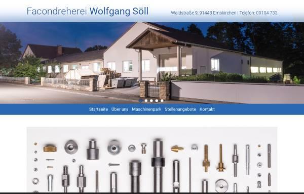 Vorschau von www.dreherei-soell.de, Facondreherei Wolfgang Söll
