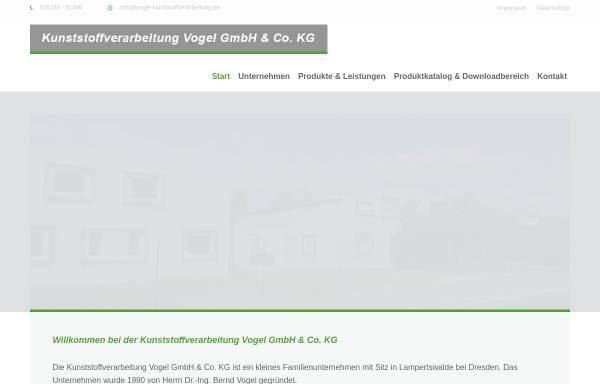 Vorschau von www.vogel-kunststoffverarbeitung.de, Dr.-Ing. Bernd Vogel
