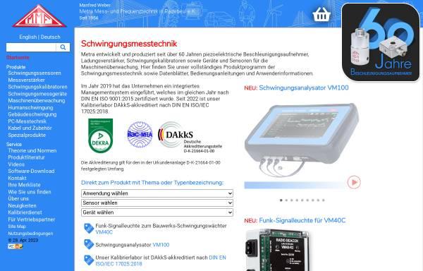 Vorschau von www.mmf.de, MMF Metra Mess- und Frequenztechnik
