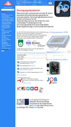 Vorschau der mobilen Webseite www.mmf.de, MMF Metra Mess- und Frequenztechnik
