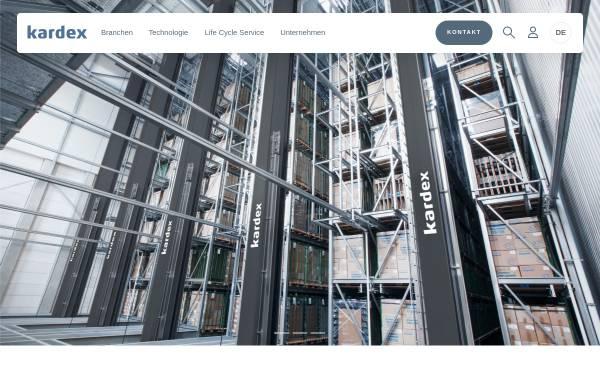 Vorschau von www.kardex-remstar.de, Kardex Deutschland GmbH