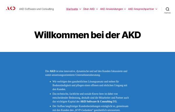 Vorschau von www.akdsoftcon.de, AKD Software & Consulting UG