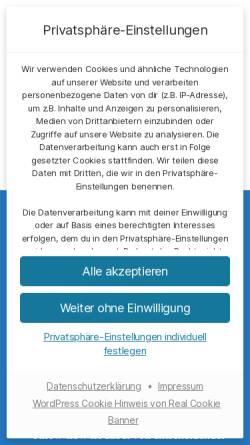 Vorschau der mobilen Webseite www.akdsoftcon.de, AKD Software & Consulting UG