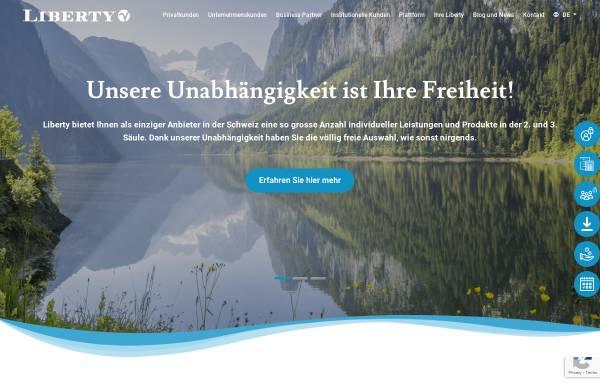 Vorschau von www.liberty.ch, Liberty Vorsorge AG