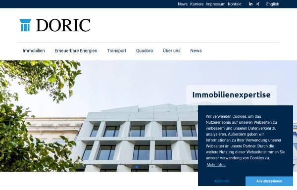 Vorschau von www.doric.com, Doric GmbH