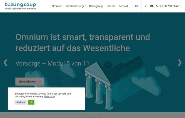 Vorschau von www.braingroup.ch, Braingroup AG